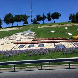 Rodovia em Istambul