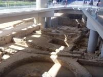 Escavações sob o Museu