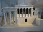 Maquete do Templo de Erechtheion