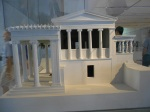 Maquete do Templo de Erechtheion