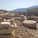 Ruínas na Acrópole