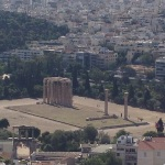 Templo visto da Acrópole